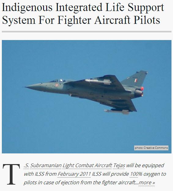 Tejas Indian jet fighter