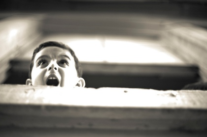 screaming child - flickr image by loryneatoui